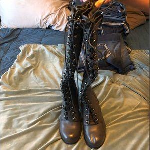 Torrid wide leg boots
